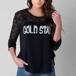Free People We the Free Gold State Top large